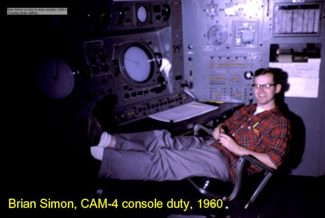 While not always this relaxing, monitoring the radar wasn't an onerous duty. The important thing was to stay awake and alert. Those who didn't lost their job quickly.