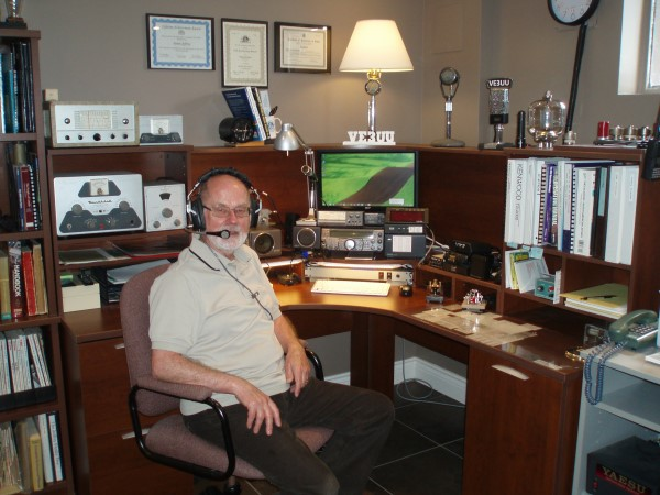 Amateur Radio operator, 73 years young and counting backwards.